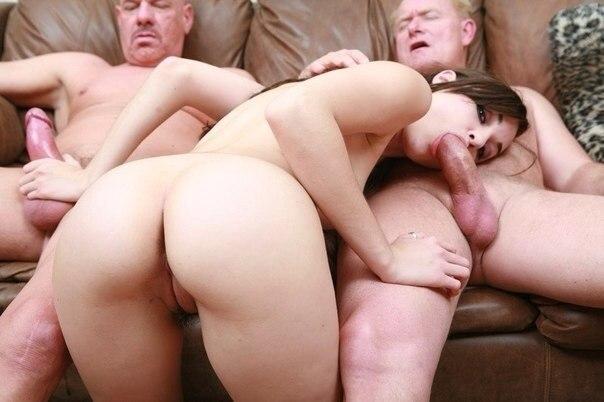 Групповуха и эротика от прекрасной Саши Грей - секс порно фото