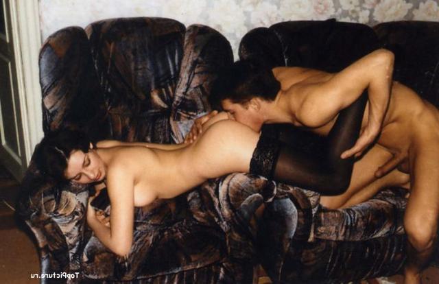 Приятнейший ретро секс двух влюбленных партнеров - секс порно фото